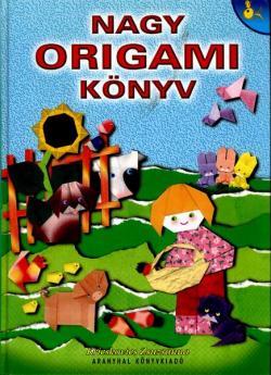 Nagy origami könyv