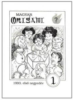 Magyar Origami Kör 1993/1 magazinja