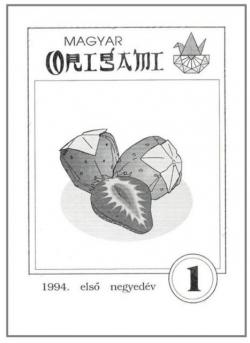 Magyar Origami Kör 1994/1 magazinja