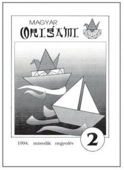 Magyar Origami Kör 1994/2 magazinja