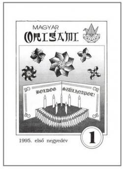 Magyar Origami Kör 1995/1 magazinja