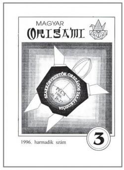 Magyar Origami Kör 1996/3 magazinja