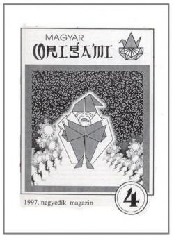 Magyar Origami Kör 1997/4 magazinja