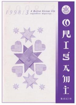 Magyar Origami Kör 1998/3 magazinja