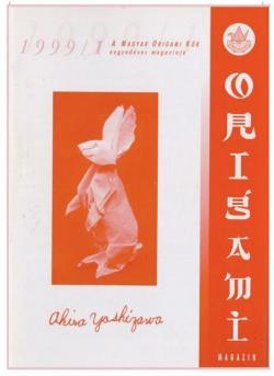 Magyar Origami Kör 1999/1 magazinja