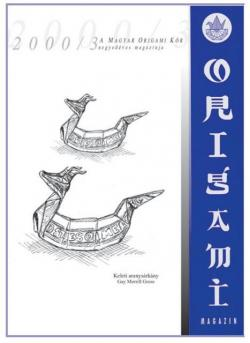 Magyar Origami Kör 2000/3 magazinja
