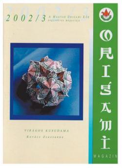 Magyar Origami Kör 2001/3 magazinja