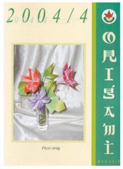 Magyar Origami Kör 2004/4 magazinja