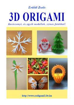 3d origami - karácsonyi és egyéb modellek