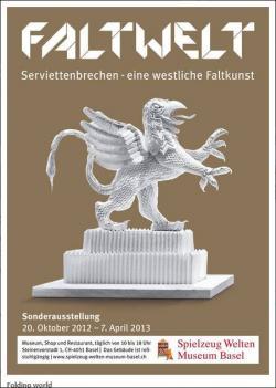Faltwelt - Szalvéta hajtogatás kiállítás