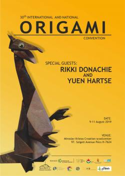 30th National and International Origami Convention - 2019. Pécs Hungary