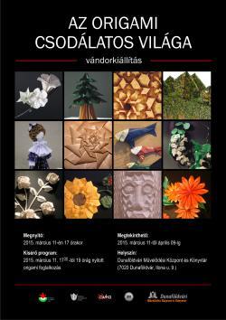 Az origami csodálatos világa vándorkiállítás Dunaföldváron