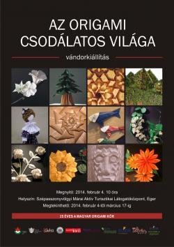 Az origami csodálatos világa vándorkiállítás Székesfehérváron