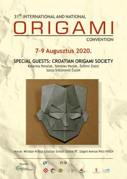 31st International and National Origami Meeting - 2020. Pécs - CANCELLED