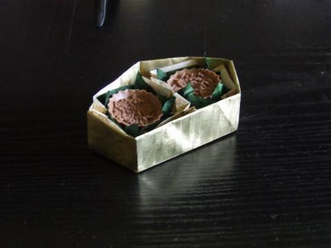 Elválasztó elem csokikkal